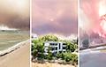 Беларуска ў ахопленым дымам і агнём турэцкім горадзе: Гараць дамы, выбухаюць газавыя балоны