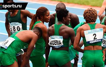 Нигерийские легкоатлеты устроили акцию протеста в олимпийской деревне