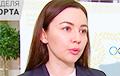 Функцыянерка НАК, якая перапыніла інтэрв'ю батутыста Літвіновіча, трапілася на хлусні