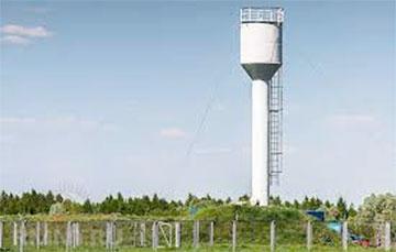 У Шаркаўшчынскім раёне скралі воданапорную вежу