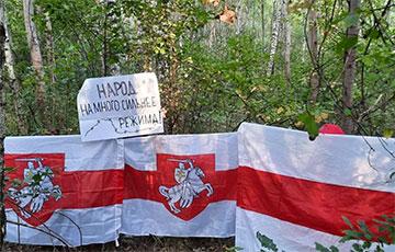 По всей Беларуси партизаны продолжают выходить на акции