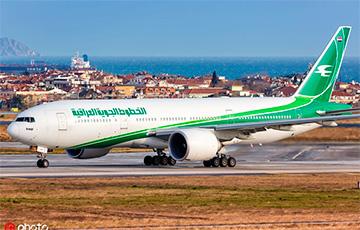 Официально: Iraqi Airways на неделю отменяет рейсы в Минск