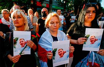 В Киеве проходит акция памяти белоруса Виталия Шишова