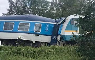 В Чехии произошла крупная железнодорожная авария