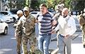 Мужчына, які пагражаў падарваць гранату ва ўрадзе Украіны, затрыманы