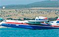 Расейскі самалёт Бе-200 выйшаў з ладу пры тушэнні пажараў у Грэцыі