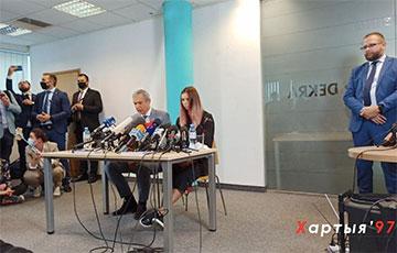 В Варшаве проходит пресс-конференция Кристины Тимановской: онлайн-трансляция