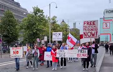 В Финляндии прошла громкая акция солидарности с Беларусью