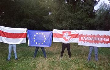 Смелые белорусские партизаны продолжают выходить за свободу