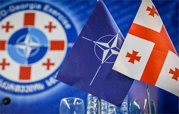 74% грузин поддерживает вступление страны в НАТО
