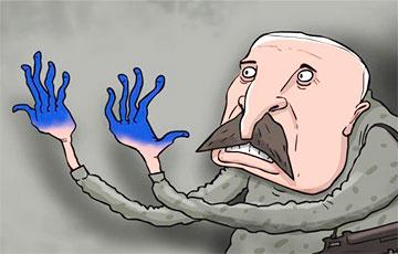 Blue Fingers Like a Black Mark