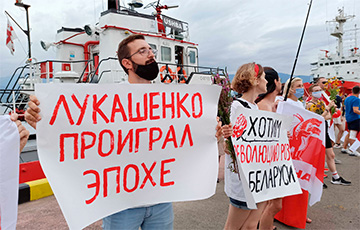В Батуми прошли марафон и акция солидарности белорусов