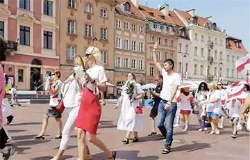 В Варшаве проходит Марш белорусок: видеофакт