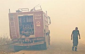 В Ливане произошел мощный взрыв на газовом танкере