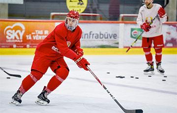 Белорусский хоккеист подписал контракт новичка с клубом НХЛ