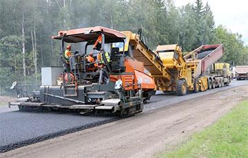 Из-за санкций лукашистам не хватает $500 миллионов на ремонт и строительство дорог