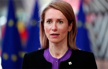 Премьер Эстонии призвала ЕС ввести новые санкции против режима Лукашенко