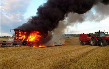 Battle for the Harvest Burns Down Machine Servicer