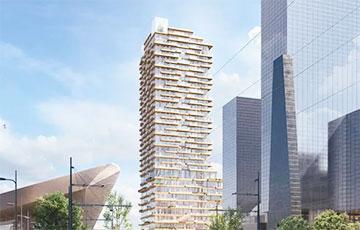 В Нидерландах построят деревянный небоскреб