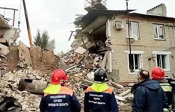 В Липецкой области РФ произошел взрыв в жилом доме