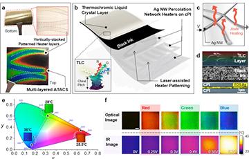 Ученые создали меняющую цвет искусственную кожу