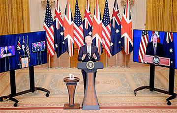 Китай занервничал из-за создания стратегического блока Австралии, США и Британии