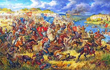 Как на Синих Водах армия великого князя Ольгерда разгромила сразу трех татарских ханов