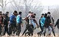 В Польше из болота у границы с Беларусью спасли восемь мигрантов
