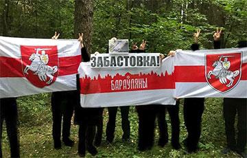 Ліда і Бараўляны выйшлі на акцыі ў падтрымку страйку