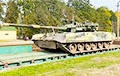 В Беларуси заметили российский танк с необычным устройством