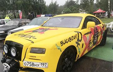 В Минске разбили Rolls-Royce российского блогера