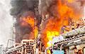 В России после взрыва загорелся Амурский газоперерабатывающий завод