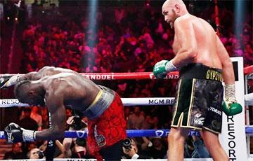 Фьюри нокаутировал Уайлдера в третьем бою и защитил титул чемпиона мира