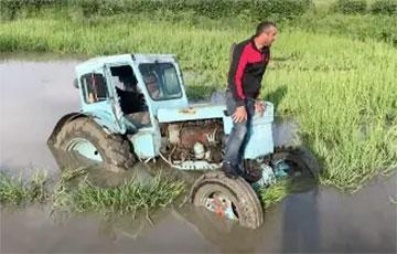 Режим Лукашенко — это старый советский трактор, застрявший в болоте