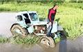 Lukashenka's Regime Reminds Me Old Soviet Tractor Stuck In Swamp