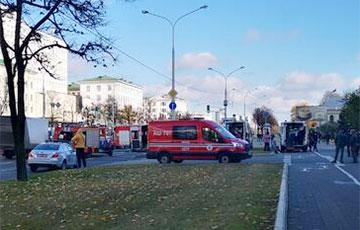 На проспекте Независимости в Минске произошла серьезная авария