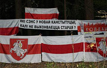 Партизаны Боровлян, Койданово и Борисова вышли на акции солидарности