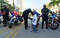 Полицию Майами на один день возглавил пятилетний мальчик