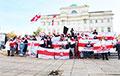 У Польшчы, Украіне, Грузіі ды Расеі прайшлі акцыі салідарнасці з Беларуссю