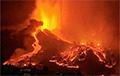 Вулкан на Канарах начал фонтанировать