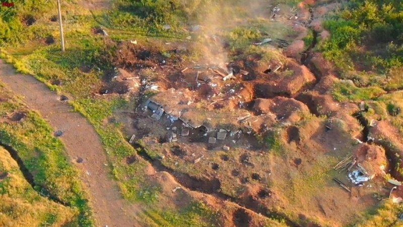 «Разнесли в клочья»: ВСУ на Донбассе уничтожили бетонное укрепление боевиков