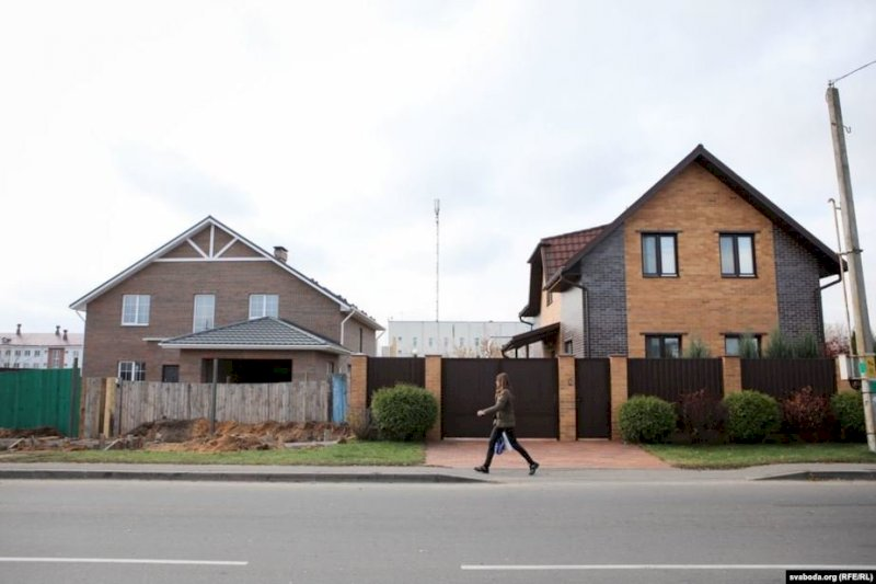 Дом лукашенко в минске фото