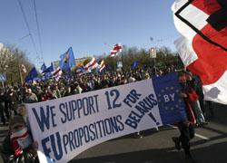 Совет Европы придерживается 12 предложений Евросоюза в развитии отношений с Беларусью