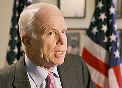 John McCain: Russia�s action is a slap in the face of all Americans