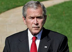 Джордж Буш назваў адмову вызваліць Казуліна «праявай зверства»