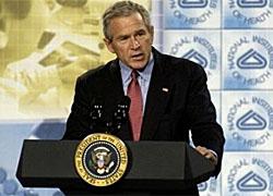 Джордж Буш: «В таких странах как Беларусь любые попытки призвать к свободе жестоко подавляются»