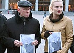Беларусы заклікаюць улады вызваліць палітвязняў (Фота)