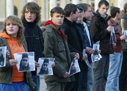 People protest and demand freedom in Minsk (Photo)