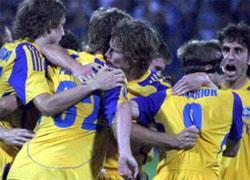 Борисовский БАТЭ вышел в групповой турнир Лиги Чемпионов! (Фото)