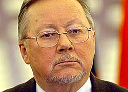 "Vytautas Landsbergis: ""You cannot talk with dictator. Dictator cannot be partner"""